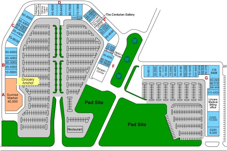 Odessa Site Plan