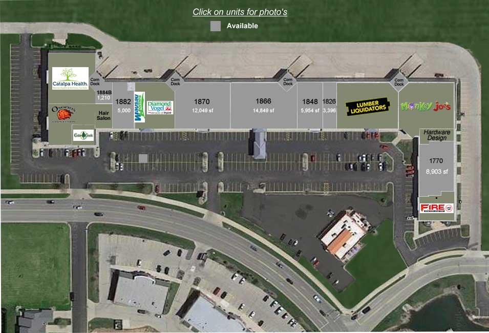 Trasino Site Plan