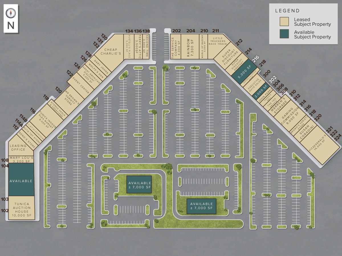Casino Site Plan